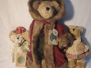 lot of 3 Boyds Bears of Various Sizes The Archive Collectibles