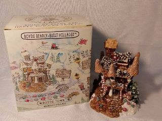 2000 The Boyds Collection Boyds Bearly Built Villages Boyds Town Kringles Village