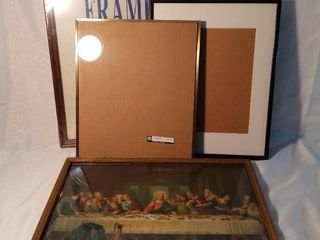 lot of 4 Frames of Various Sizes