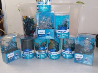 Amazing lot Of 10 Assorted Battery Operated lights