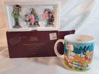 lot of 2 Disney Decor  Disney Parks Family  with Coffee Mug