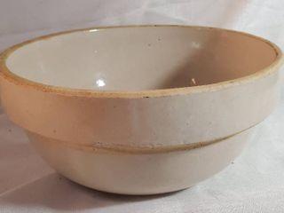 alarge Salt Glazed Stoneware Bowl