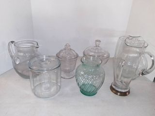 Very Nice lot Of Assorted Glass Ware