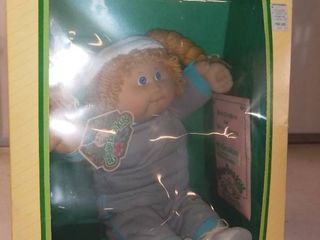 Vintage Cabbage Patch Kids Doll In Box In Excellent Condition