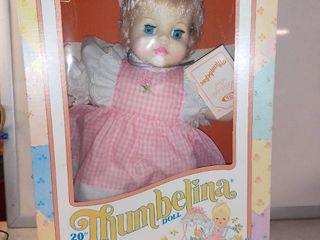 20  Thumbelina Doll With Sleeping Eyes Etc