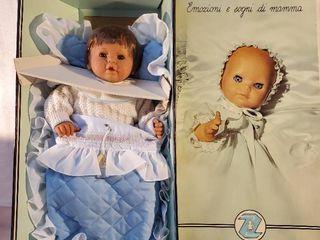 ZANINI   ZAMBEllI Baby Doll in Blue Blanket
