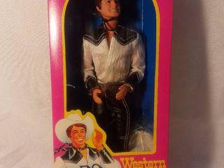 Mattel Barbie Western Ken 1980 Orginal Box