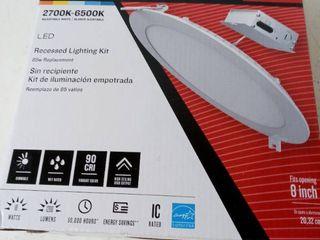 Utilitech 1500759 Canless 2700 6500k led Recessed lighting Kit 8
