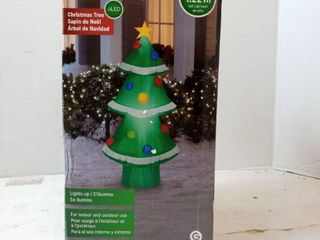 Gemmy 4ft Tall Christmas Tree With Ornaments Inflatable Indoor outdoor Holiday