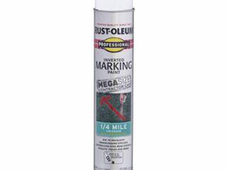Rust Oleum 26 oz Marking Spray Paint  44  White