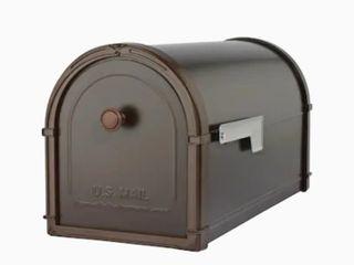 Architectural Mailbox Bellevue Dark Brown