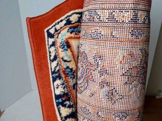 5ft x 8ft terracotta rug