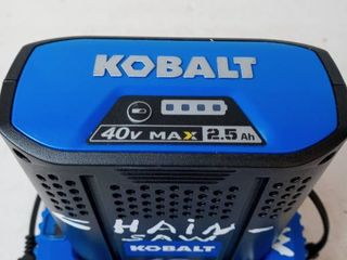 Kobalt 40v Max lithium Ion Charger and Battery