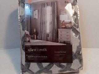 Allen Roth 50in x 84in Grommet Top Panal