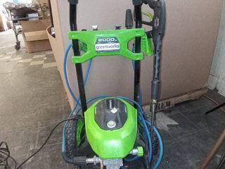 Greenworks PREMIUM ElECTRIC PRESSURE WASHER 2000 PSI 1 2GPM