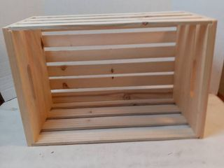 large Pine Crate