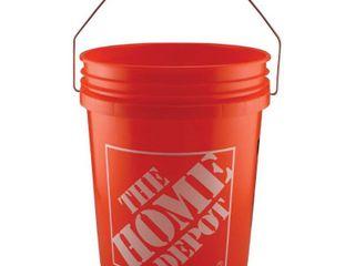 The Home Depot 5 Gal  Homer Bucket  Orange