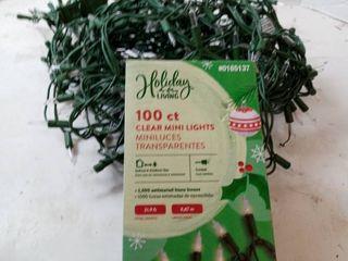 100ct  Clear Mini lights