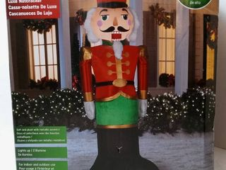 luxe Nutcracker Airblown Inflatalbe  8ft tall
