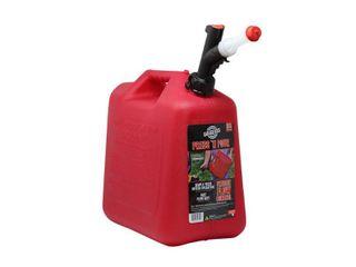 GarageBOSS Press  N Pour 5 Gallon Gas Can