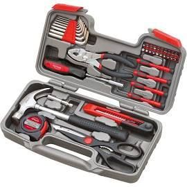Apollo Tools 39pc DT9706 General Tool Set Red