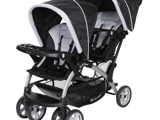 Baby Trend Sit N Stand Double Stroller  Stormy