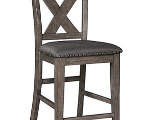 Caitbrook Upholstered Counter Height Bar
