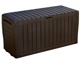 Keter Marvel Plus 71 Gallon Resin Outdoor Box for Patio
