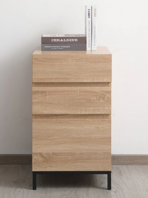 Atlas 18 inch File Cabinet in Mango Wood  Retail 226 49