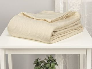 Aitkin All Season Cotton Metro Throws and Blankets by Impressions   King