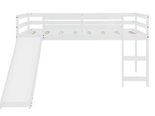 Twin loft Bed White