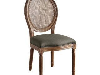 Stella Oval Back Chair Otter   OSP Home Furnishings
