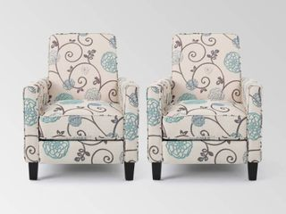 Darvis Contemporary Fabric Recliner  Set of 2  by Christopher Knight Home Retail 473 49
