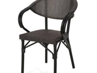 Meaux Outdoor Parisian Cafe Chair   Set of 2