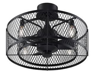 Fanimation Studio Collection lp8350blaz Vintere Ceiling Fan With led light Kit