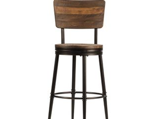 Jennings Counter Height Barstool   Distressed Walnut   Hillsdale Furniture