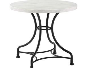 Crosley Furniture 32  Round Table Matte Black