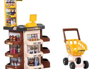 Qaba Kids Supermarket Pretend playset