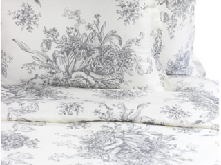 MAlange HomePrinted Design Cotten Collection 400 Thread Count King Duvet Set