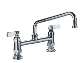 Whitehaus WHFS9813 12 C Heavy Duty Utility Bridge Faucet
