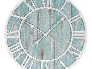 la Crosse Clock 23 5  Harbor Tides Wall Clock