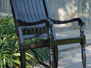 Cambridge Casual lyon Mahogany Oversize Rocking Chair  Retail 197 49