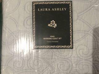 Felicity Quilt And Sham Set King   laura Ashley