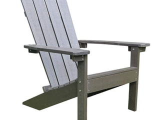 lakeside Faux Wood Adirondack Chair Espresso Retail 139 99