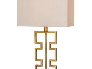 Fangio lighting M R 1585 28  Antique Gold Metal lamp