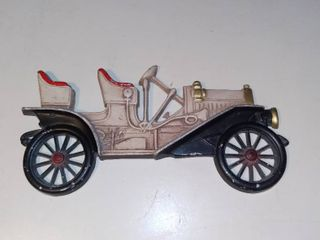 Vintage Midwest Cast Metal Car Wall Hanging 1910 Buick