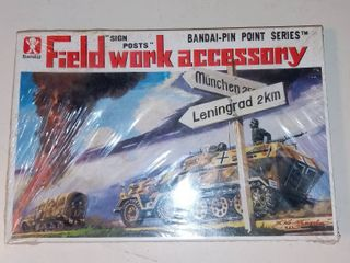 Bandai Field Work Accessory Sign Posts