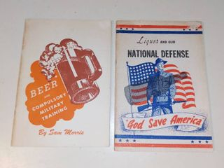 Two 1940s Military Temperance Pamphlets