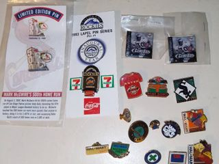 lot of Miscellaneous Pins
