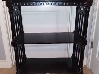 Small Black Bookshelf